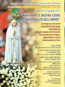 GCar - CVS Pellegrinaggio a Fatima 2017