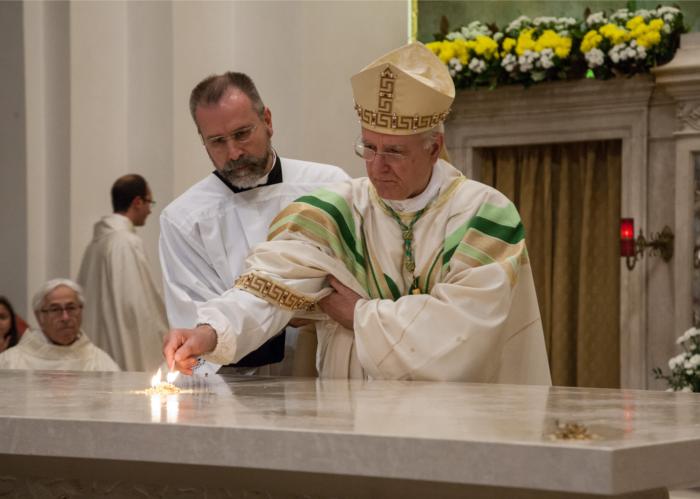 La dedicazione dell'altare