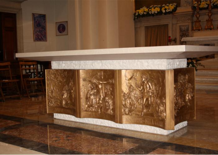 Il nuovo altare del Duomo